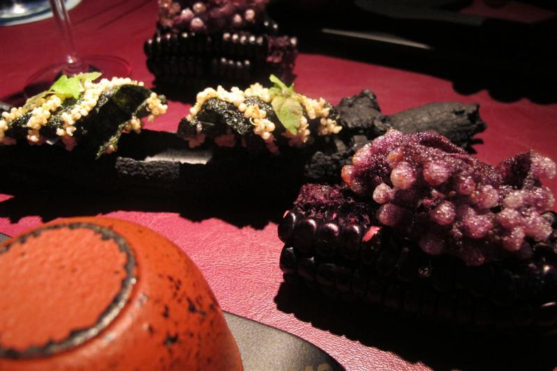tentacoli di polpo, 41° Experience, Chef Albert Adrià, Barcellona, spagna
