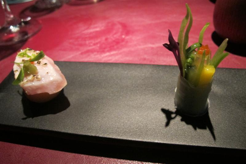 ceviche di orata,41° Experience, Chef Albert Adrià, Barcellona, spagna