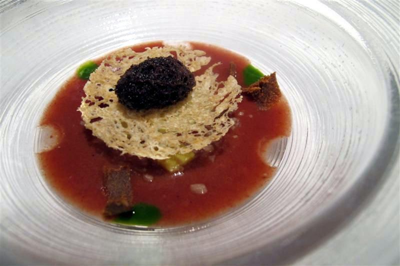 gazpacho, El Celler de Can Roca, Chef Joan Roca, Girona