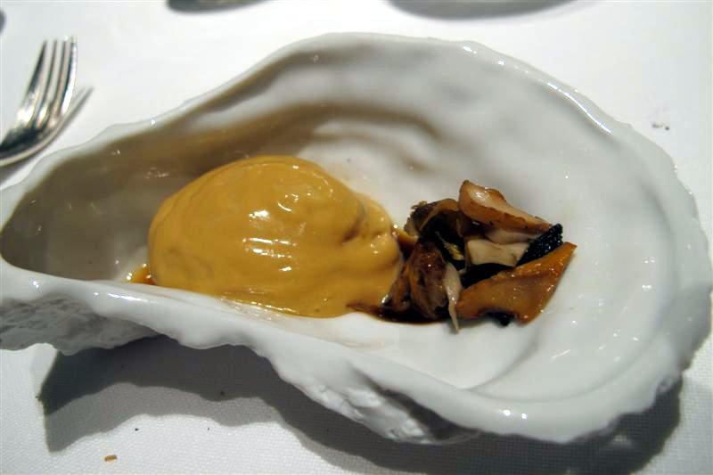 ostrica, El Celler de Can Roca, Chef Joan Roca, Girona