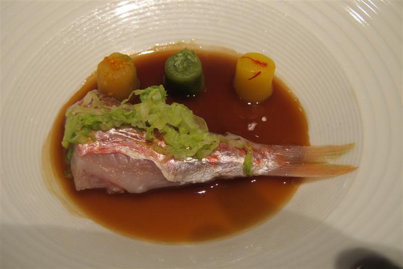 triglia ripiena, El Celler de Can Roca, Chef Joan Roca, Girona