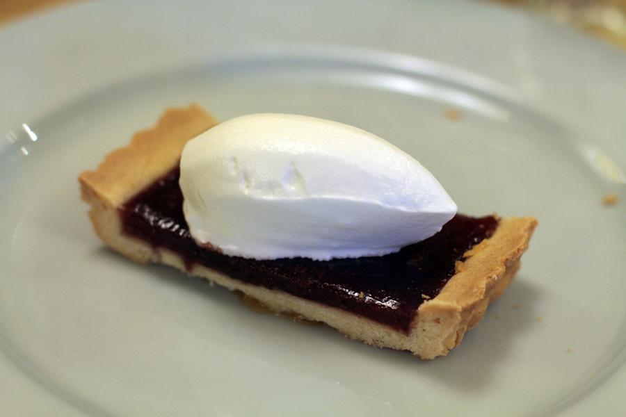 crostata di fragole, La Piola, Chef Dennis Panzeri, Enrico Crippa, Alba