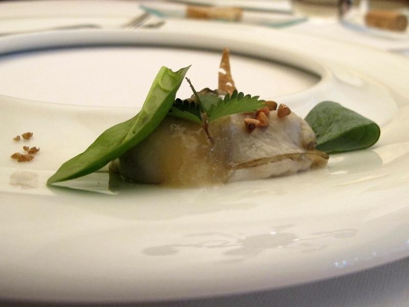 ostrica, Maison Decoret, Chef Decoret, Vichy, Francia