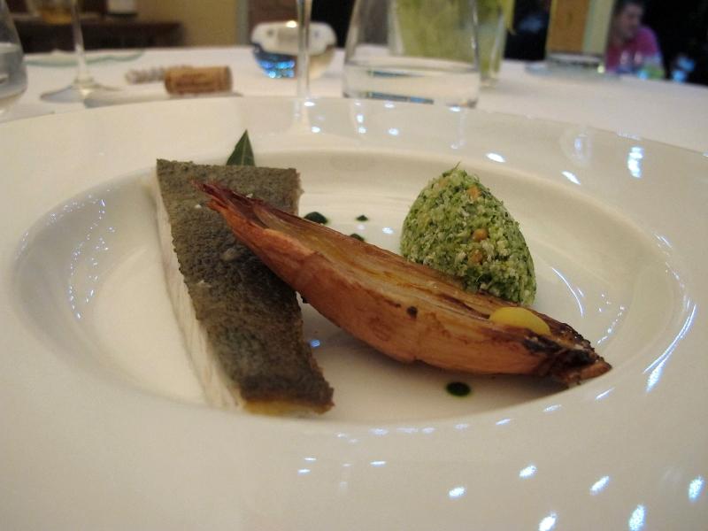 secondo piatto, Maison Decoret, Chef Decoret, Vichy, Francia