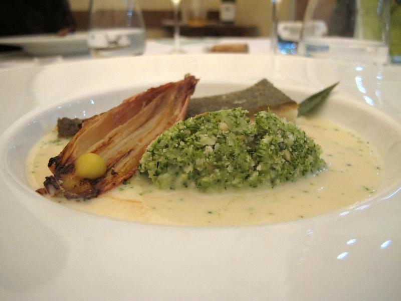 secondo piatto, rombo, Maison Decoret, Chef Decoret, Vichy, Francia
