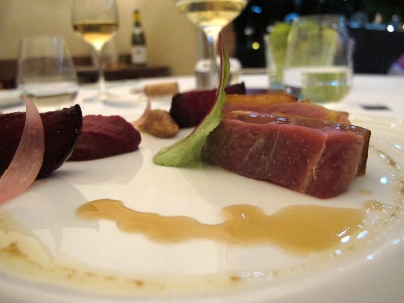 secondo piatto, canette, Maison Decoret, Chef Decoret, Vichy, Francia