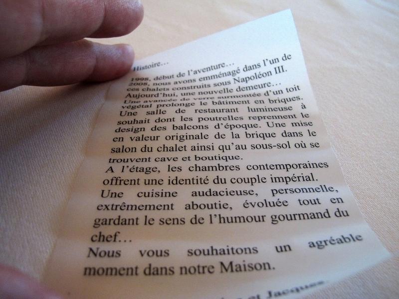 benvenuto, Maison Decoret, Chef Decoret, Vichy, Francia