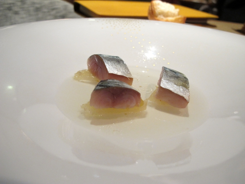 gelatina e sgombro, Maison Troisgros, Chef Troisgros, Roanne, France