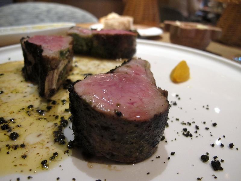 secondo piatto, agnello speziato, Maison Troisgros, Chef Troisgros, Roanne, France
