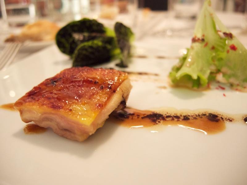 pollo con insalata, Uliassi, Chef Mauro Uliassi, Senigallia