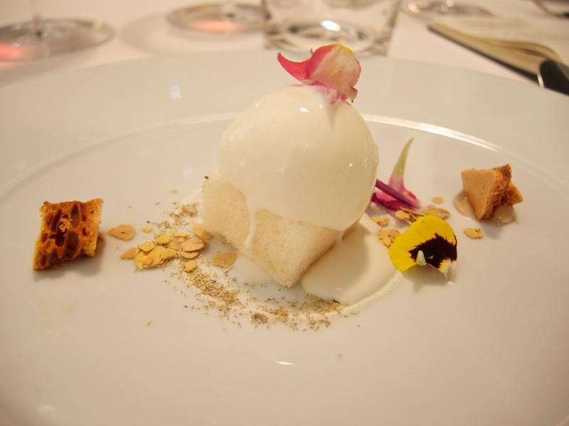 gelato di bucarello, Uliassi, Chef Mauro Uliassi, Senigallia