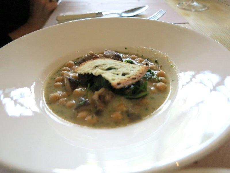 zuppa di funghi, Al Fresco, Chef Kokichi Takahashi, Milano