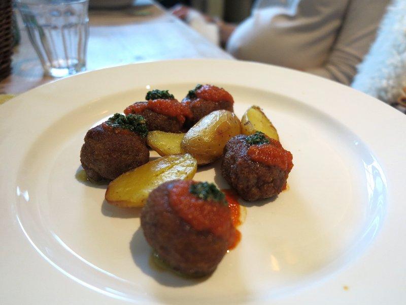 polpette, Al Fresco, Chef Kokichi Takahashi, Milano