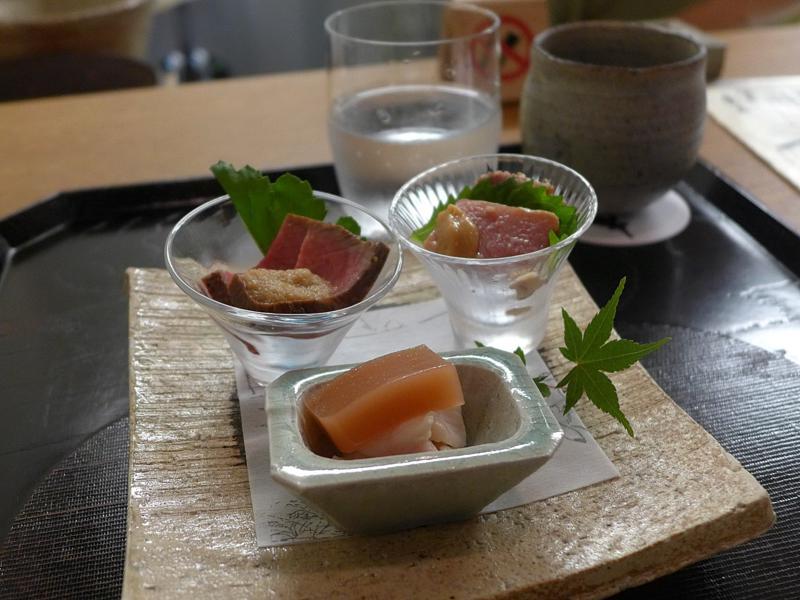 trippa, Isshin, Chef Hideichi Katagiri, Kyoto, Giappone