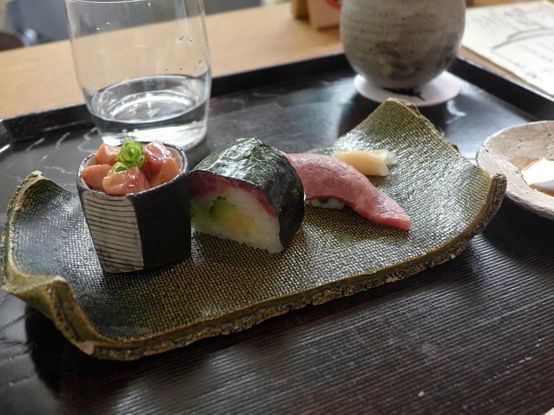 sushi, Isshin, Chef Hideichi Katagiri, Kyoto, Giappone