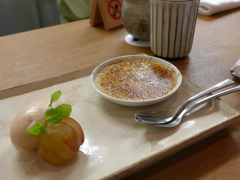variazione di fico, Isshin, Chef Hideichi Katagiri, Kyoto, Giappone