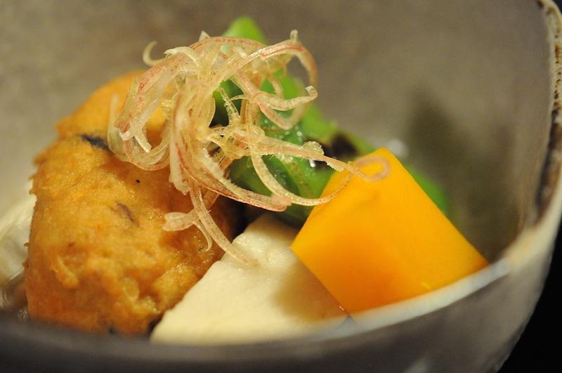 palla di tofu, Kitcho, Chef Kunio Tokuoka, Cucina Kaiseki, Kyoto