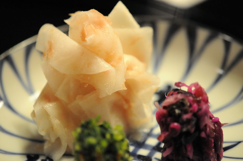rapa con salsa di prugna, Kitcho, Chef Kunio Tokuoka, Cucina Kaiseki, Kyoto