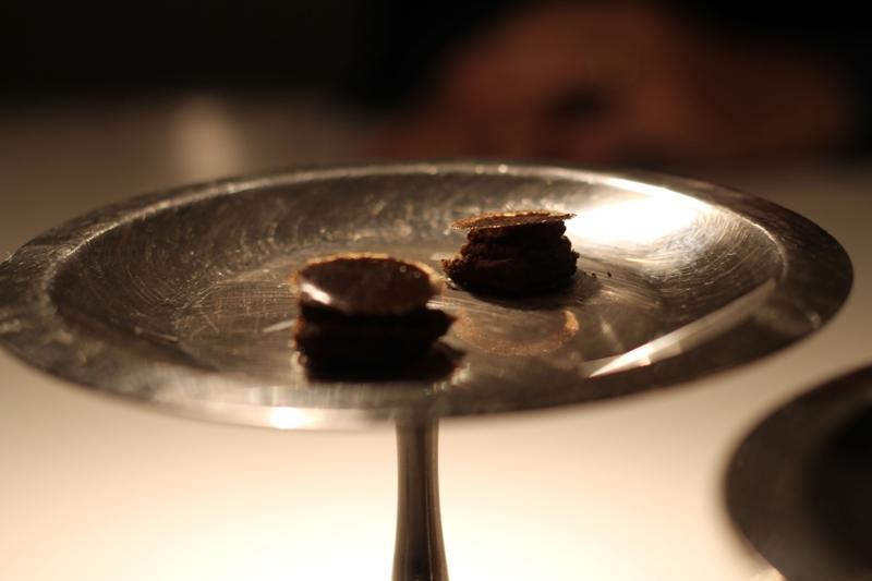 croccante al caffè, Reale, Chef Niko Romito, Castel di Sangro