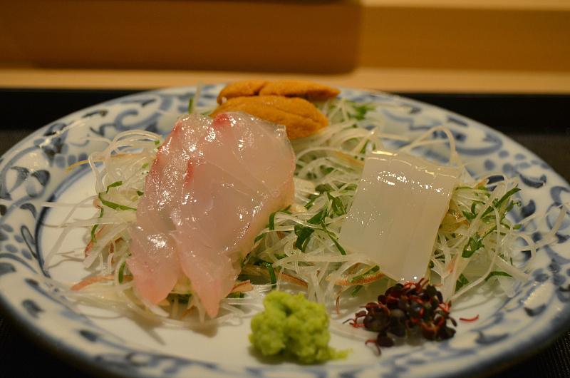 sashimi, Tenko Honten, chef Tenko-san, Hiroshima, Japan