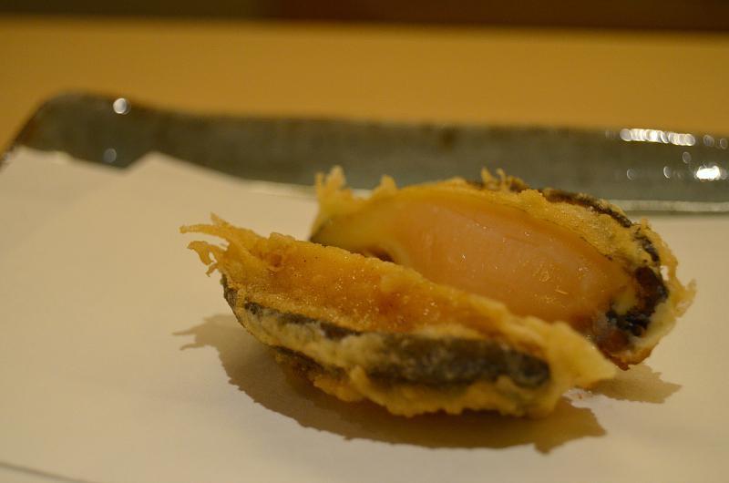 abalone, Tenko Honten, chef Tenko-san, Hiroshima, Japan