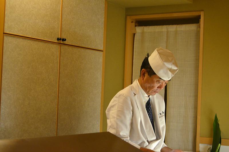 maestro, Tenko Honten, chef Tenko-san, Hiroshima, Japan