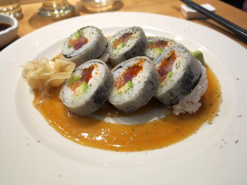 Roll, Yuzu, Chef Yoko Matsuda, Milano