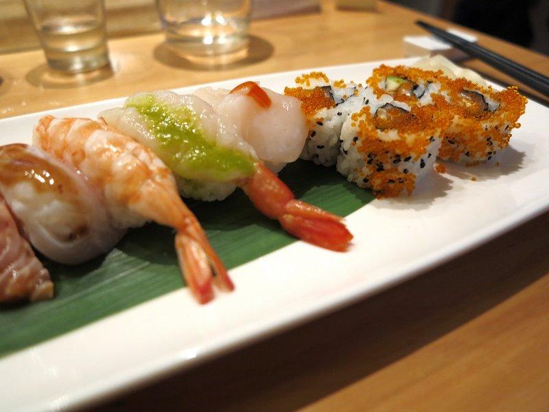 nigiri, Yuzu, Chef Yoko Matsuda, Milano
