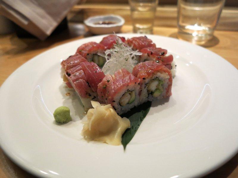 tonno, Yuzu, Chef Yoko Matsuda, Milano