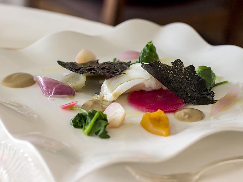 primo piatto, La Ciau del Tornavento, Chef Maurilio Garola, Treiso,Cuneo