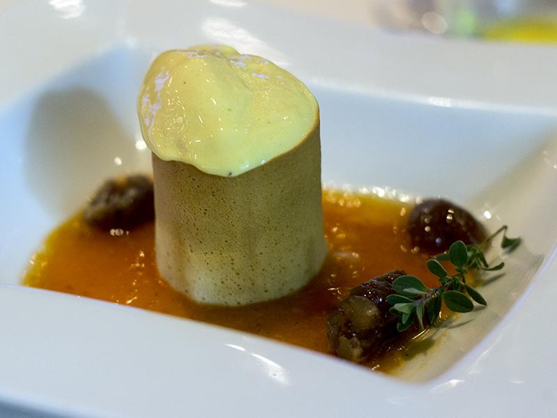 dessert, La Ciau del Tornavento, Chef Maurilio Garola, Treiso,Cuneo