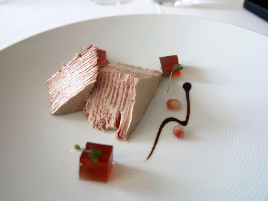millefoglie di lingua e foie gras, Cascinalenuovo, Chef Walter Ferretto, Isola d'Asti
