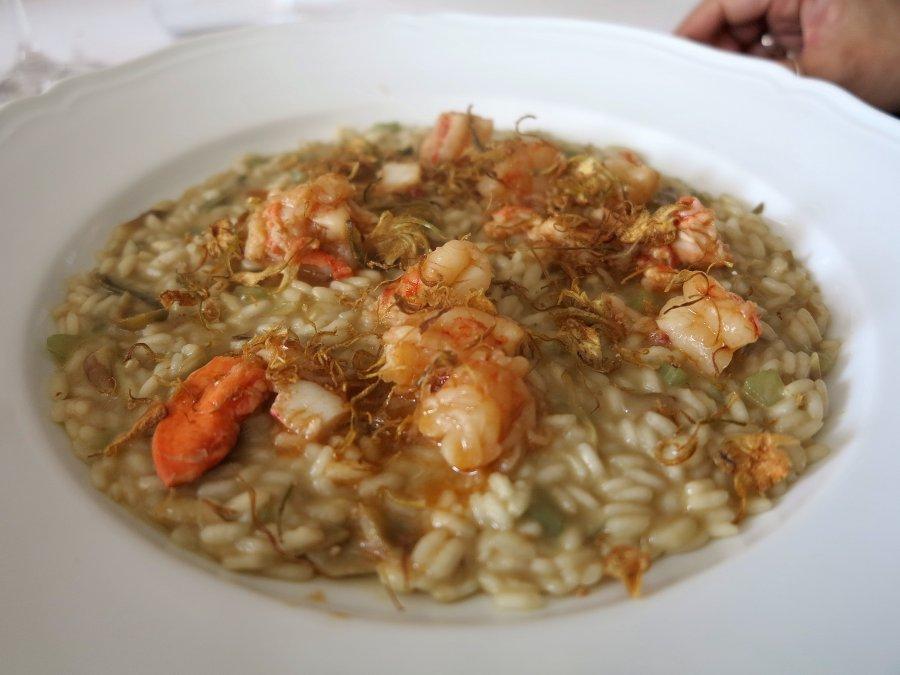 risotto, primo piatto, Cascinalenuovo, Chef Walter Ferretto, Isola d'Asti