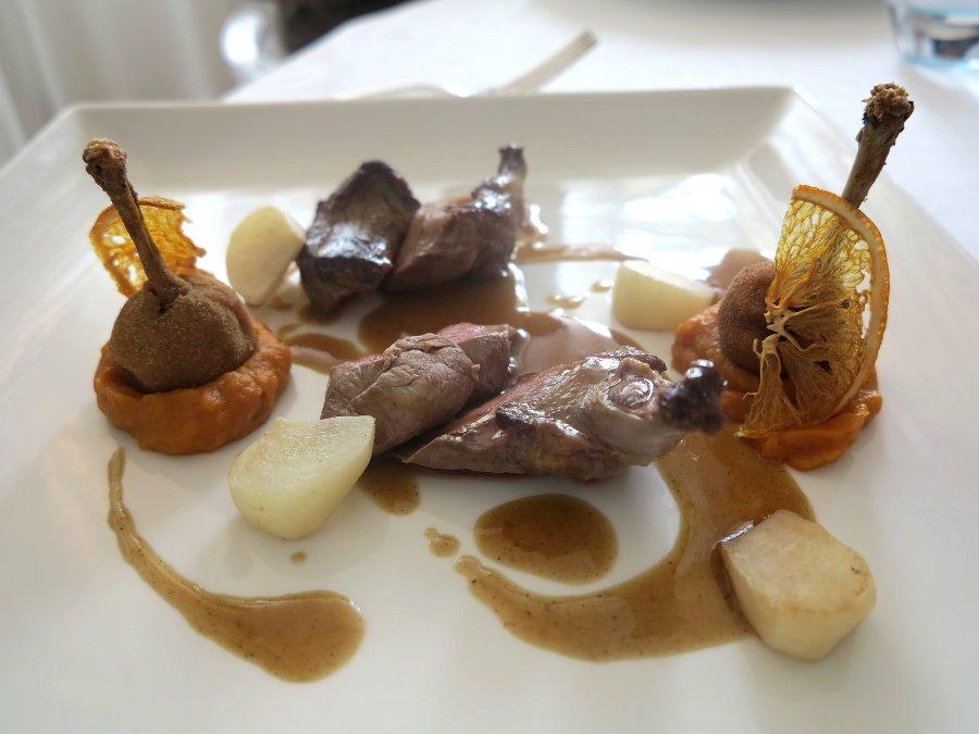secon do piatto, piccione, Cascinalenuovo, Chef Walter Ferretto, Isola d'Asti