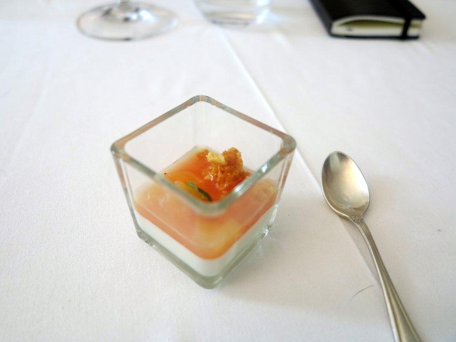 pre dessert, Cascinalenuovo, Chef Walter Ferretto, Isola d'Asti