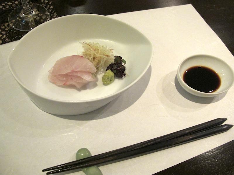 sashimi, Esaki, chef Shintaro Esaki, Aoyama, Tokyo