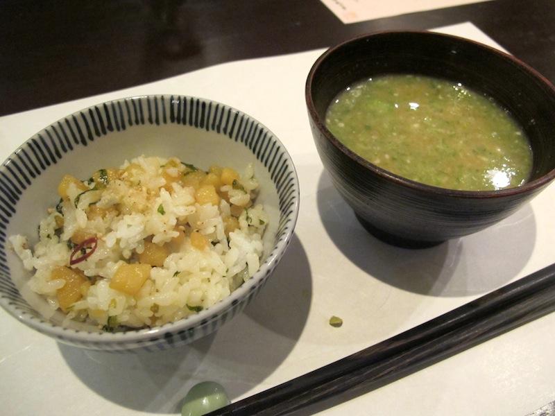 zuppa di miso, Esaki, chef Shintaro Esaki, Aoyama, Tokyo