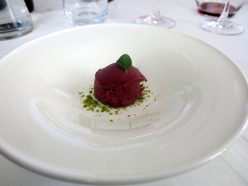 sorbetto di uva al roero, All'Enoteca, Davide Palluda, Canale, Cuneo