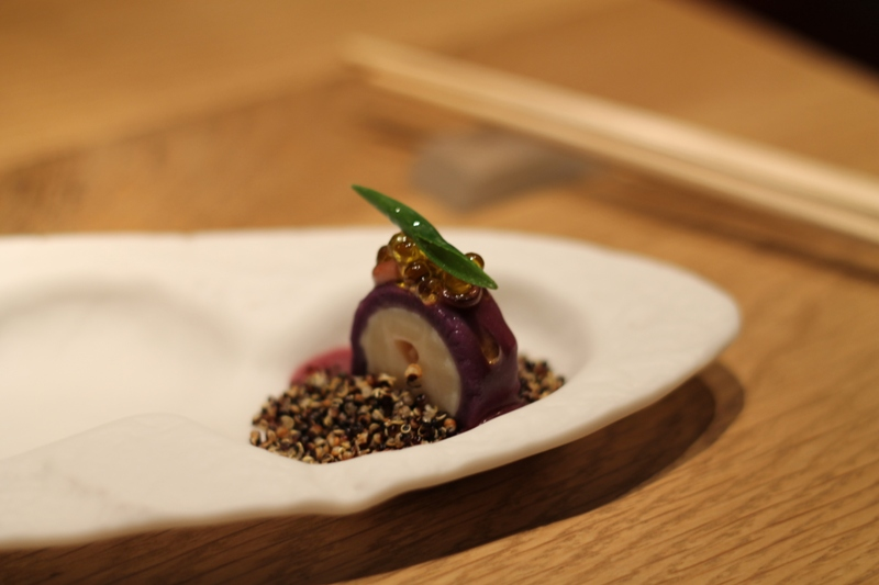 piovra e quinoa fritta, Pakta, chef Albert Adrià, Barcellona