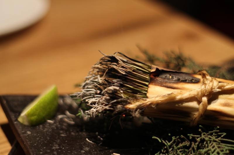 fumo di pino, Pakta, chef Albert Adrià, Barcellona