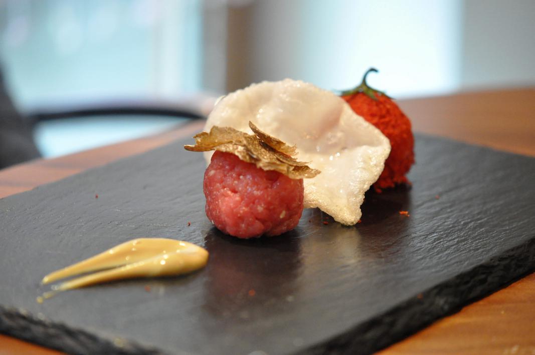 tartare pomodoro, Il Ridotto, Chef Ivano Mestriner, Venezia