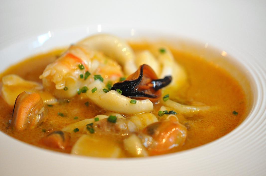 zuppa come caciucco, Il Ridotto, Chef Ivano Mestriner, Venezia