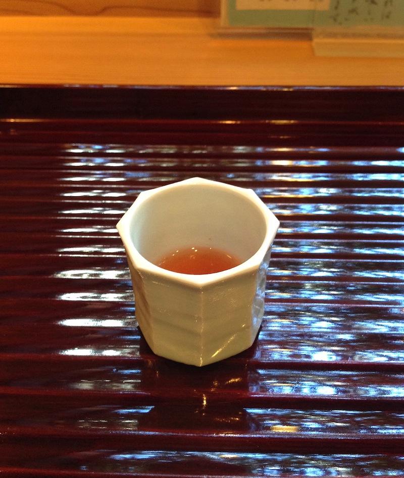 prugna e miele, Soba Ryuheisoba, Kyoto, Giappone