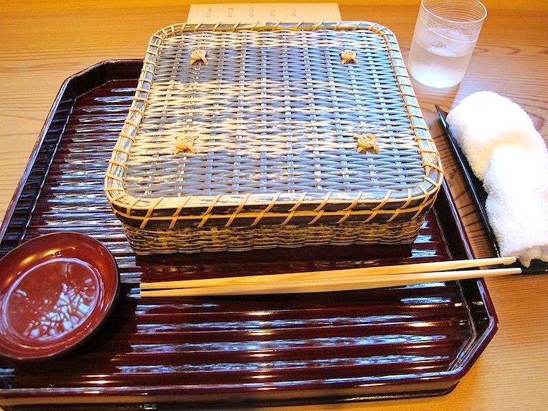 scatola, Soba Ryuheisoba, Kyoto, Giappone
