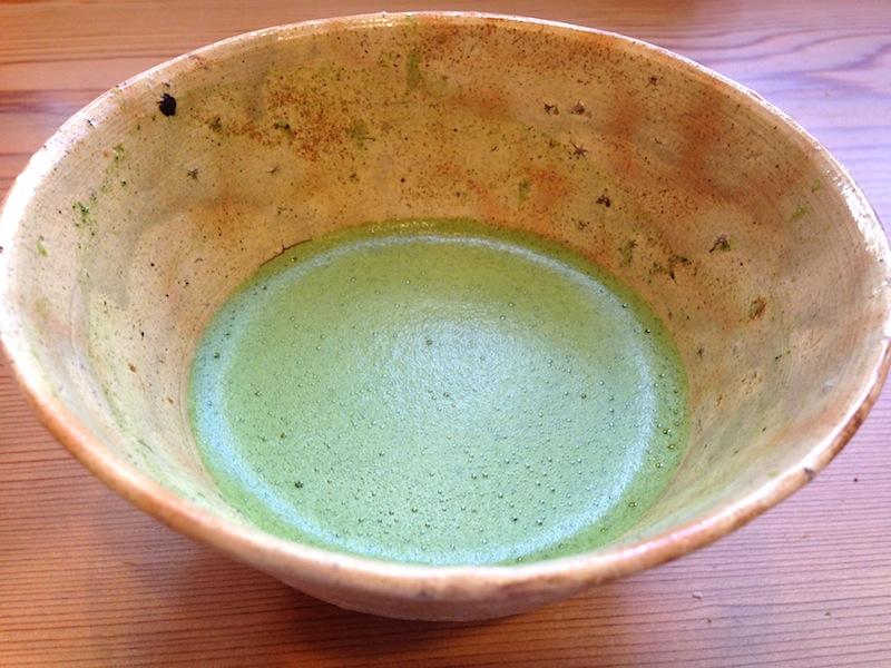 tè macha, Soba Ryuheisoba, Kyoto, Giappone