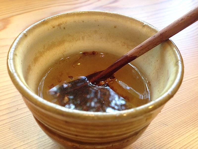 tè di soba, Soba Ryuheisoba, Kyoto, Giappone