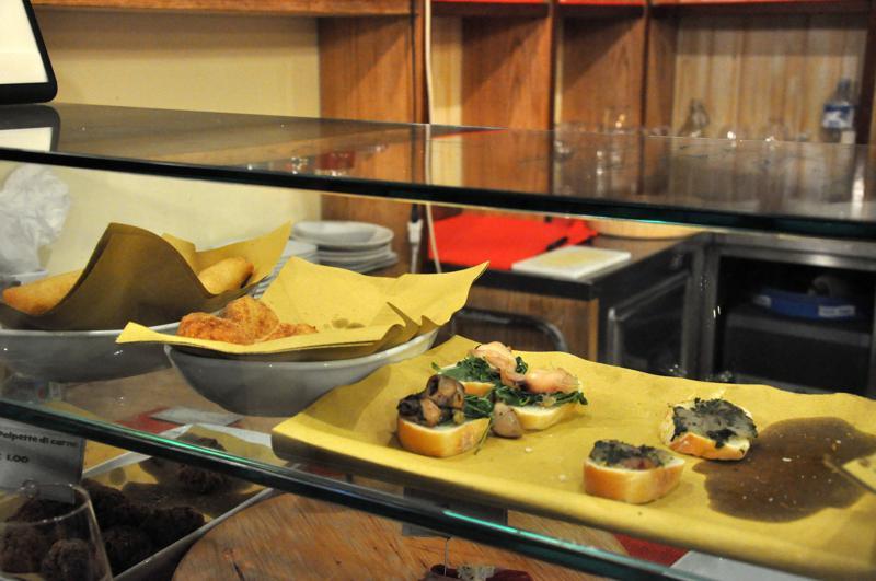 cicheti, Osteria alla ciurma wine Bar, bacari, Venezia