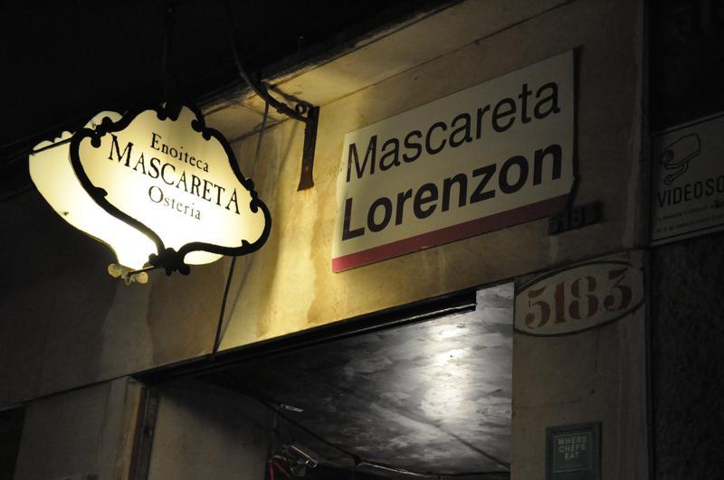 Enoiteca Mascareta, Bacari, Venezia