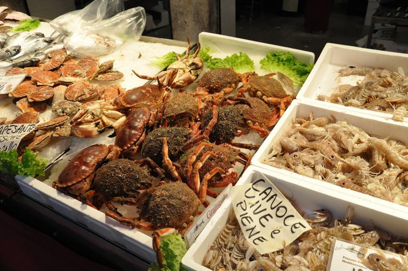 mercato del pesce venezia, Ai Promessi Sposi, Bacari, Venezia