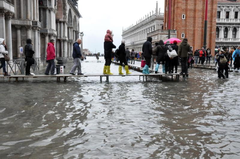 acqua alta, Venezia